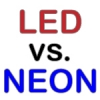 LEDs VERSUS NEON OR COLD CATHODE